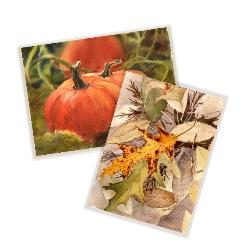 Fall/Thanksgiving Watercolor Cards